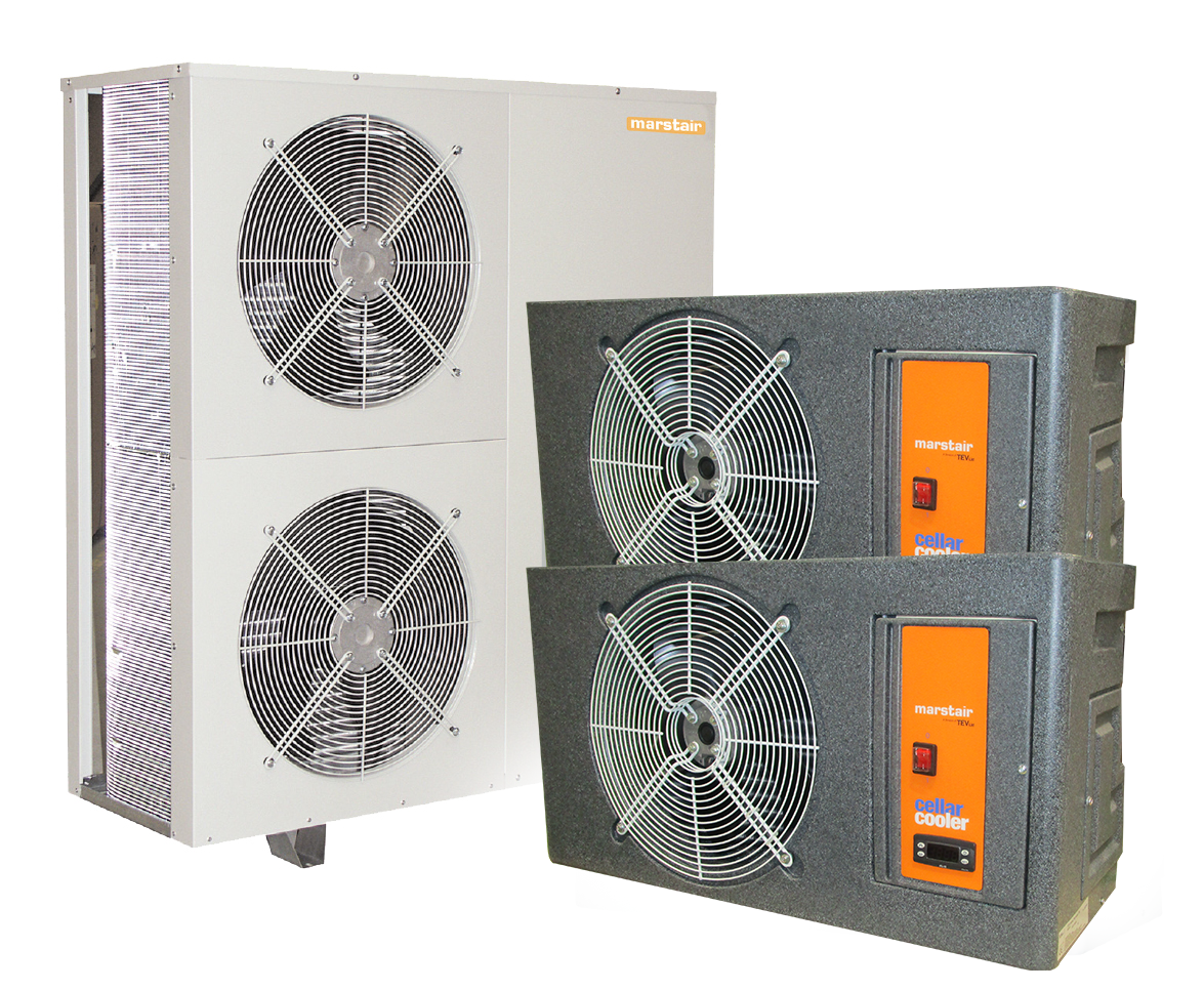 Beer master cellar cooler chiller, air conditioning unit with.
